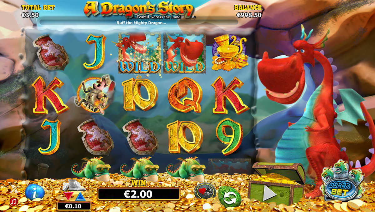 a dragons story nextgen gaming игровой автомат