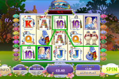adventures in wonderland playtech игровой автомат 480x320