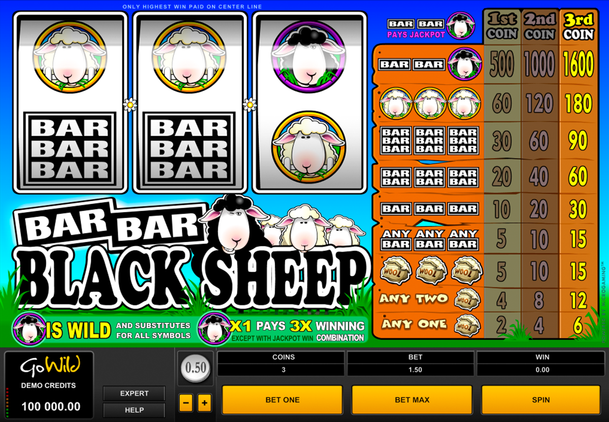 barbarblack sheep microgaming игровой автомат