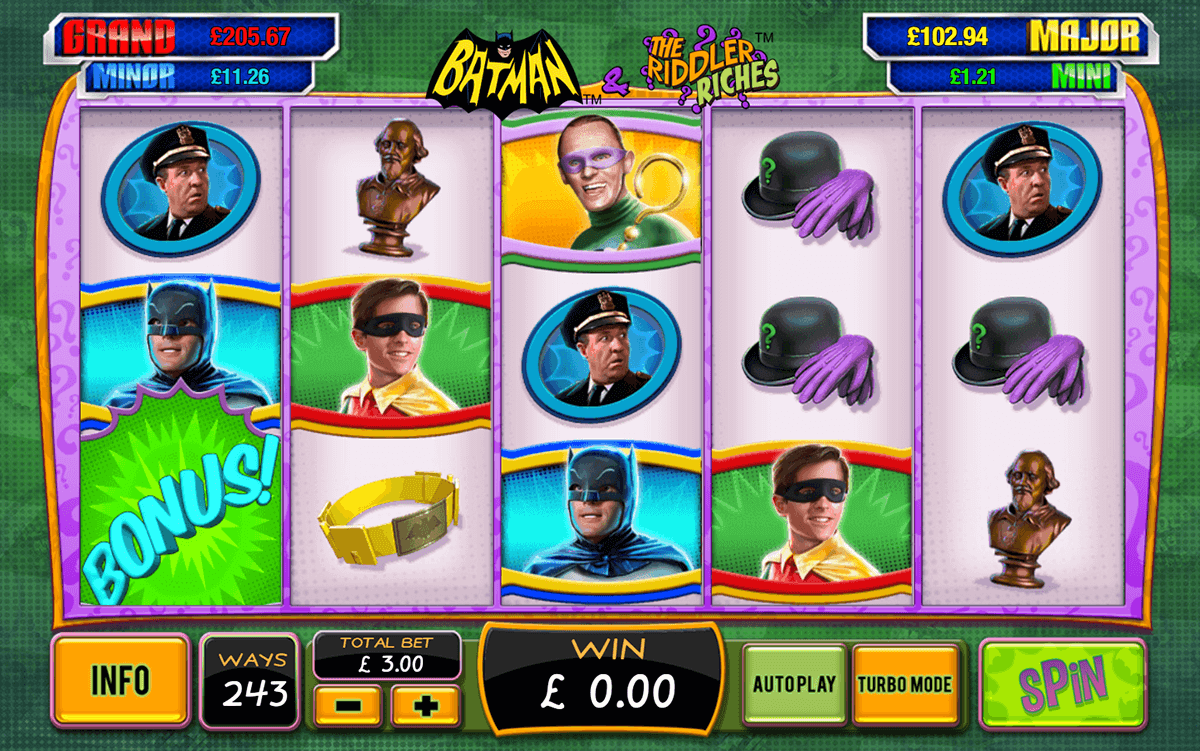batman the riddler riches playtech игровой автомат