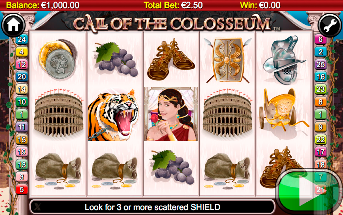 call of the colosseum nextgen gaming игровой автомат