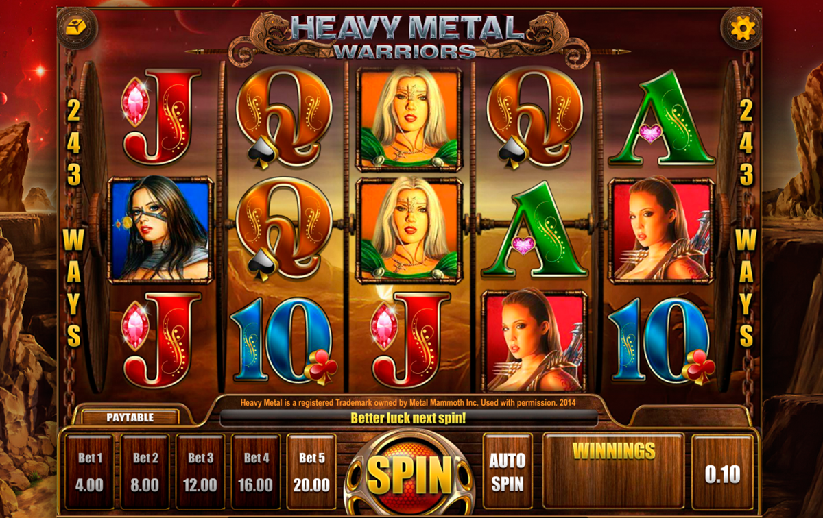 heavy metal warriors isoftbet игровой автомат
