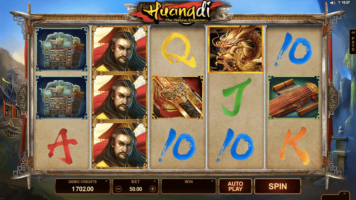 huangdi the yellow emperor microgaming игровой автомат