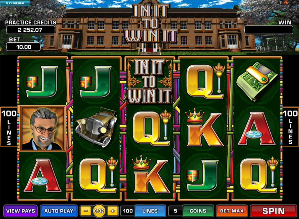 in it to win it microgaming игровой автомат