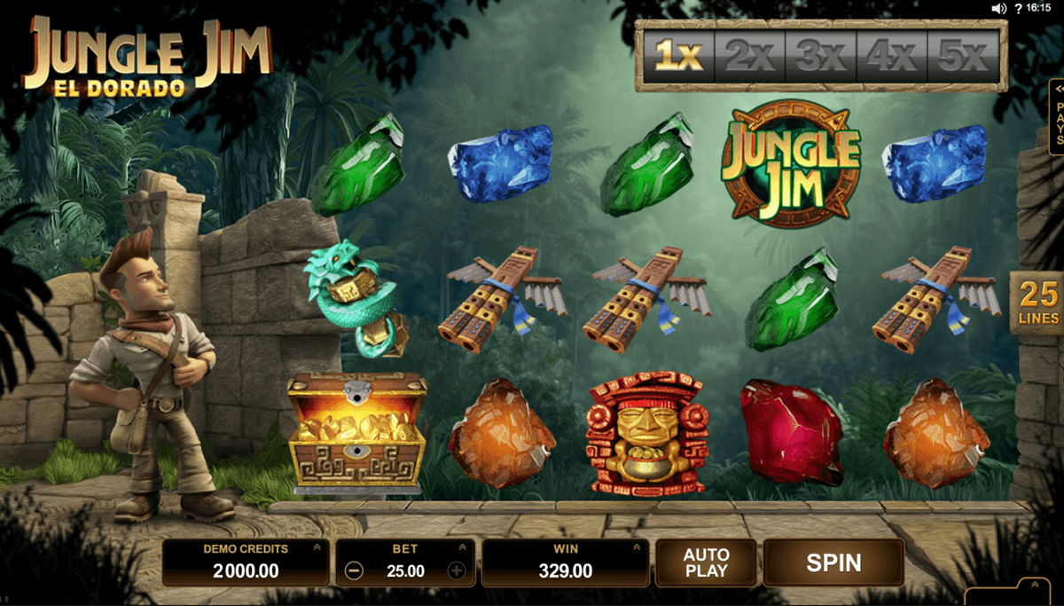 jungle jim el dorado microgaming игровой автомат