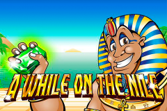 logo a while on the nile nextgen gaming слот