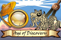 logo age of discovery microgaming слот