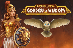 logo age of the gods goddess of wisdom playtech слот