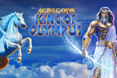 logo age of the gods king of olympus playtech слот