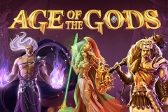 logo age of the gods playtech слот