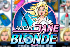 logo agent jane blonde microgaming слот