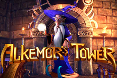 logo alkemors tower betsoft слот