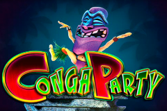 logo conga party microgaming слот
