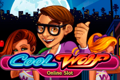 logo cool wolf microgaming слот