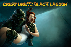 logo creature from the black lagoon netent слот