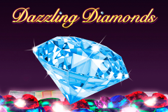 logo dazzling diamonds novomatic слот