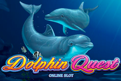logo dolphin quest microgaming слот