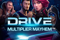logo drive multiplier mayhem netent слот