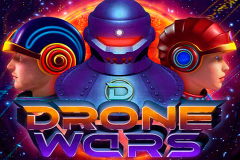 logo drone wars microgaming слот