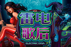 logo electric diva microgaming слот