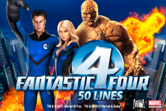 logo fantastic four 50 lines playtech слот