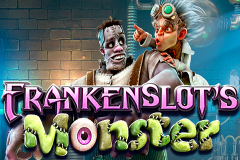 logo frankenslots monster betsoft слот