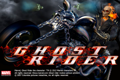 logo ghost rider playtech слот