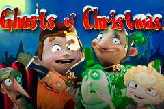 logo ghosts of christmas playtech слот