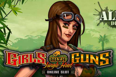logo girls with guns jungle heat microgaming слот