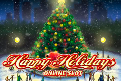 logo happy holidays microgaming слот