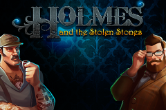 logo holmes and the stolen stones слот