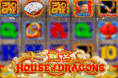 logo house of dragons microgaming слот