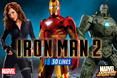 logo iron man 2 50 lines playtech слот