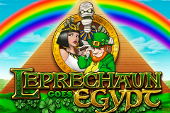 logo leprechaun goes egypt playn go слот
