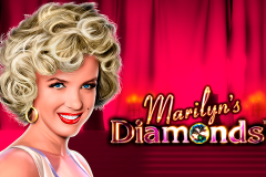 logo marilyns diamonds novomatic слот