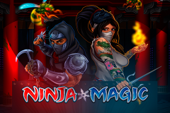 logo ninja magic microgaming слот