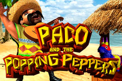 logo paco and the popping peppers betsoft слот