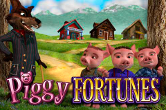 logo piggy fortunes microgaming слот
