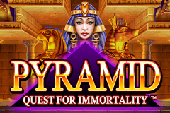 logo pyramid quest for immortality netent слот