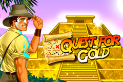 logo quest for gold novomatic слот