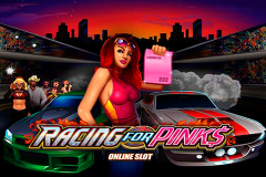 logo racing for pinks microgaming слот