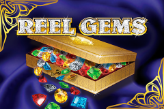logo reel gems microgaming слот