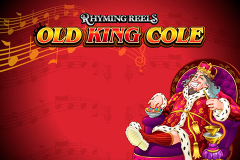 logo rhyming reels old king cole microgaming слот