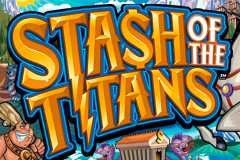 logo stash of the titans microgaming слот