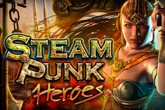 logo steam punk heroes microgaming слот