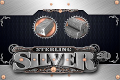 logo sterling silver 3d microgaming слот