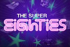 logo super eighties netent слот