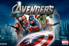 logo the avengers playtech слот