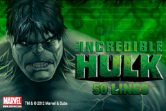 logo the incredible hulk 50 lines playtech слот