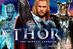 logo thor the mighty avenger playtech слот